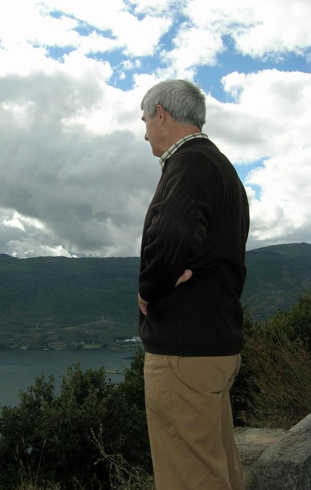 Overlooking Lago de Sanabria