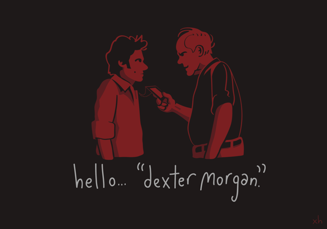 Hello____Dexter_Morgan____by_haydxn