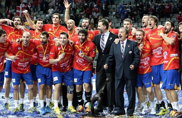 Handball Spain Champions