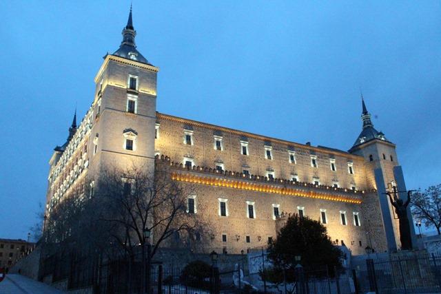 Alcázar de Toledo noche / Toledo Alcázar night