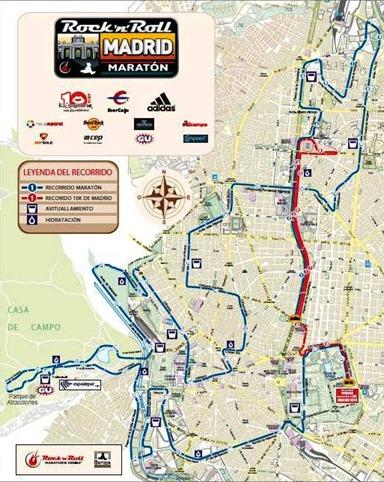 Recorrido Maraton