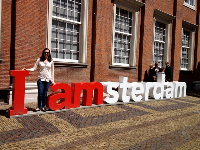 I amsterdam sign Begijnhof
