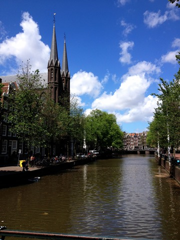 Canals Church Amsterdam