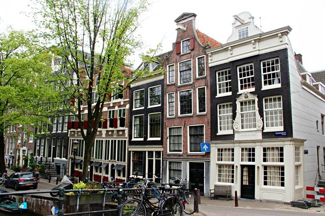 Gabled Houses Amsterdam