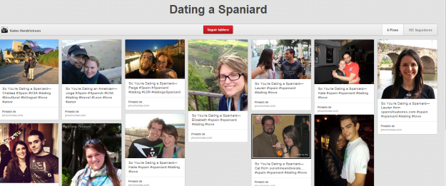 Dating a Spaniard Pinterest Kaley Y Mucho Más