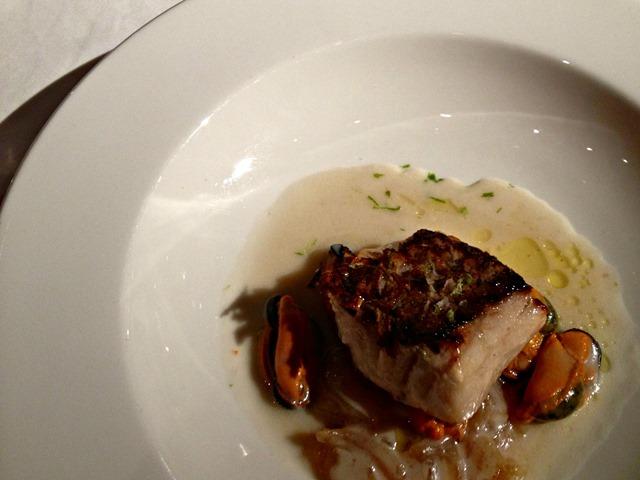 Teatro Real Restaurant Fish