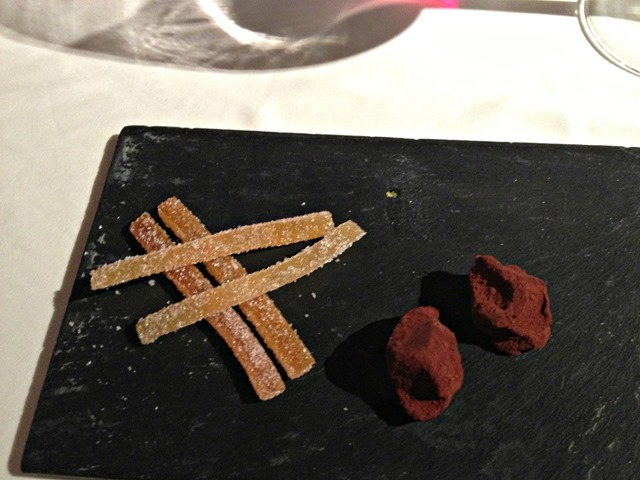 Teatro Real Restaurant Chocolate Truffles