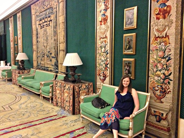 Teatro Real Salón Verde