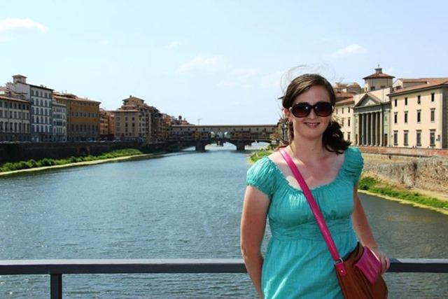 Kaley Florence Ponte Vecchio