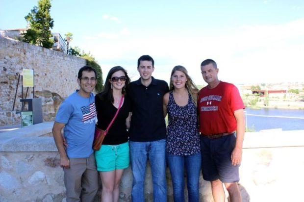 Family in Zamora 2012