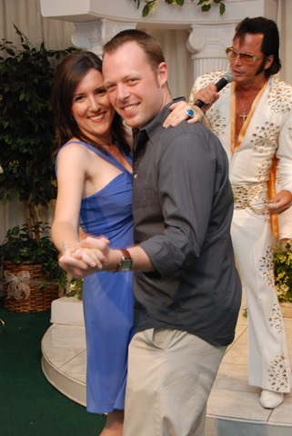 Alicia y Ryan Las Vegas boda número 2 2011