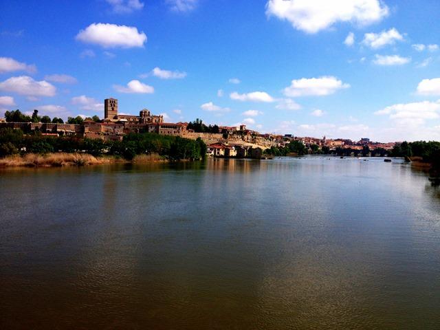 Zamora River Douro