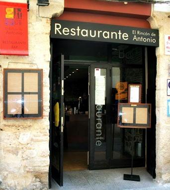 Restaurante El Rincón de Antonio Zamora