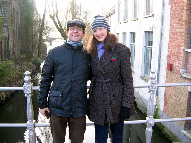 Spanish American Couple Bruges