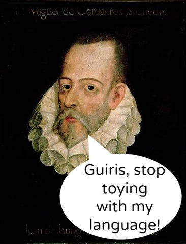 Cervantes Spanish Mistakes