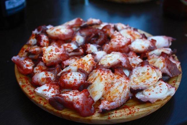Pulpo Octopus Galicia Spain