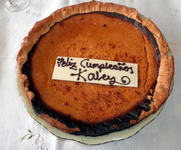 Pumpkin Pie in Spain