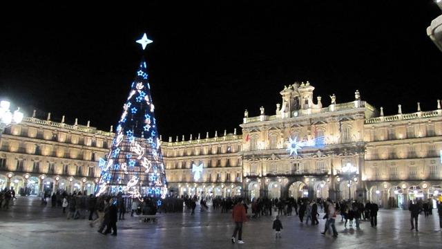 Salamanca Spain Christmas