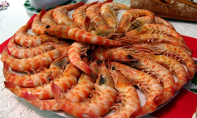 Spain Christmas Prawns