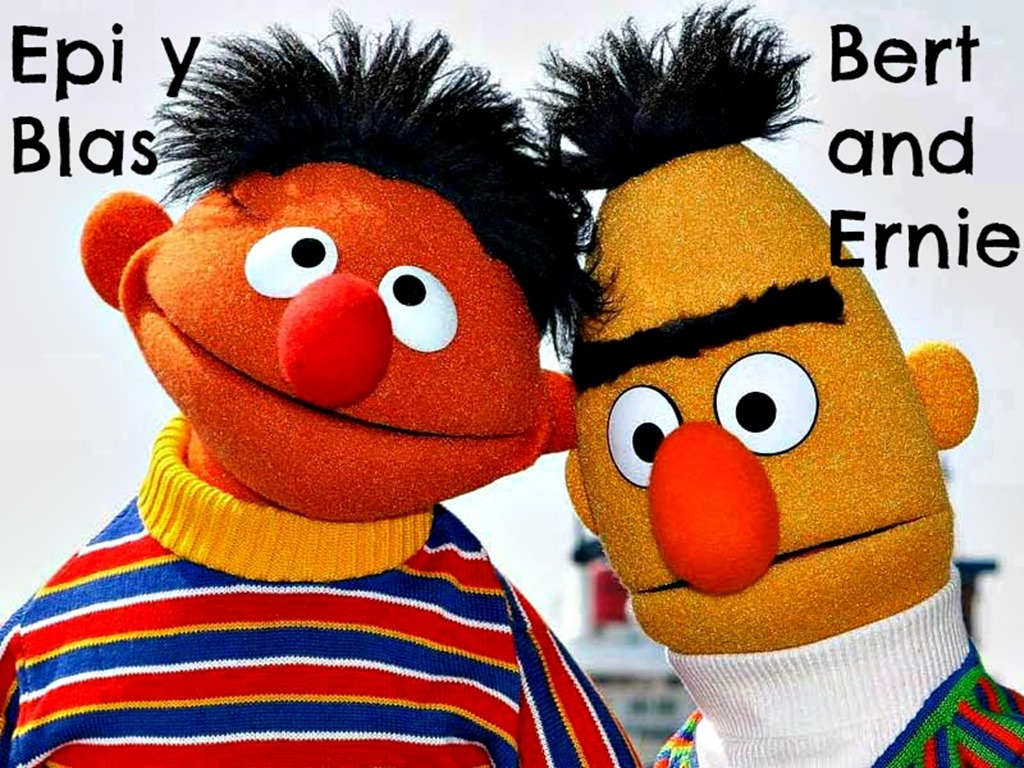 Bert and Ernie Epi y Blas