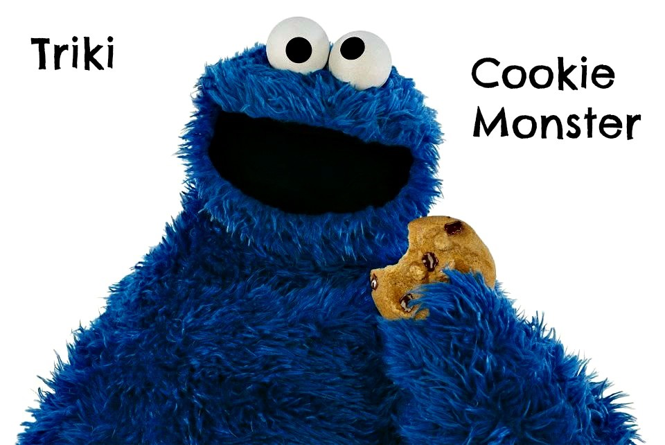 Cookie Monster Triki