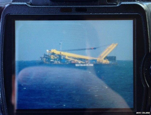 Gran Canaria Downed Plane Tug Boat