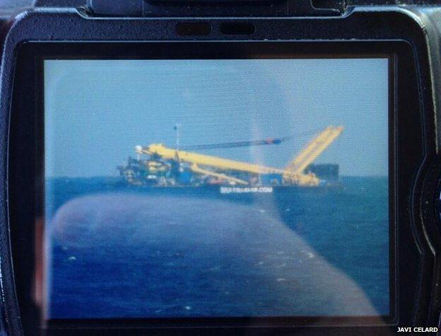 Gran Canaria Downed Plane Tug Boat