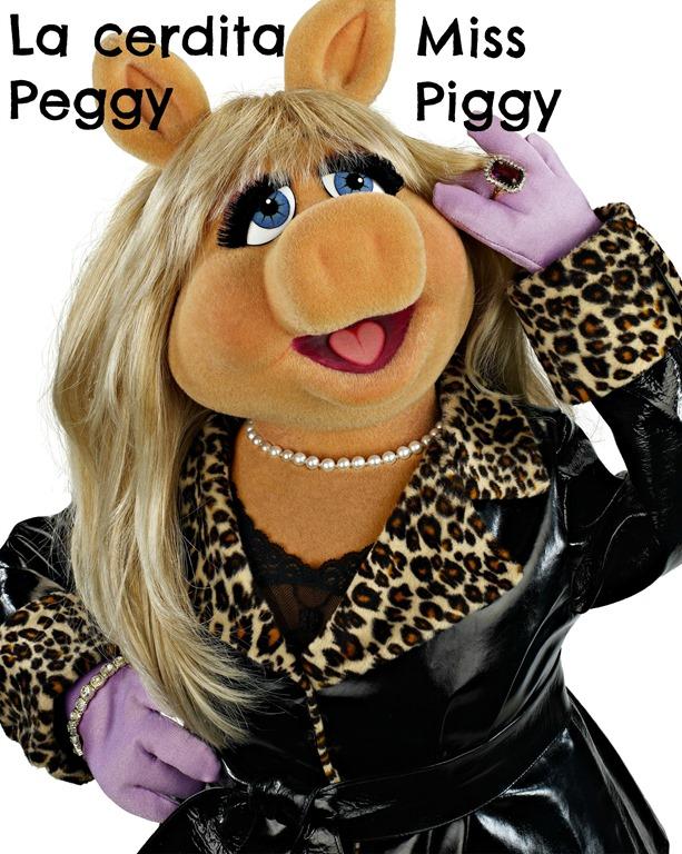 Miss Piggy La Cerdita Peggy