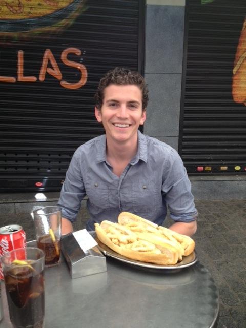Dating a Spaniard Zac
