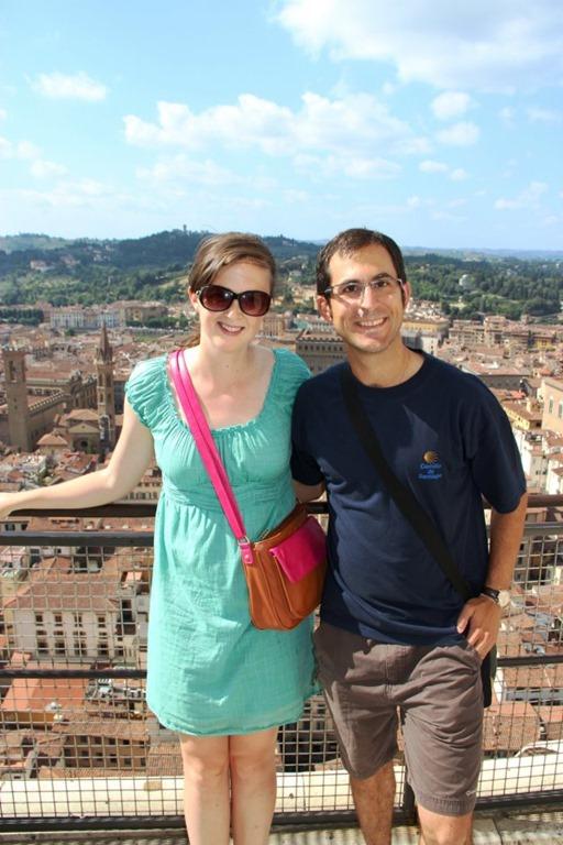 Kaley Mario Duomo Florence