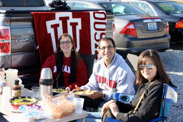 Tailgating Indiana University