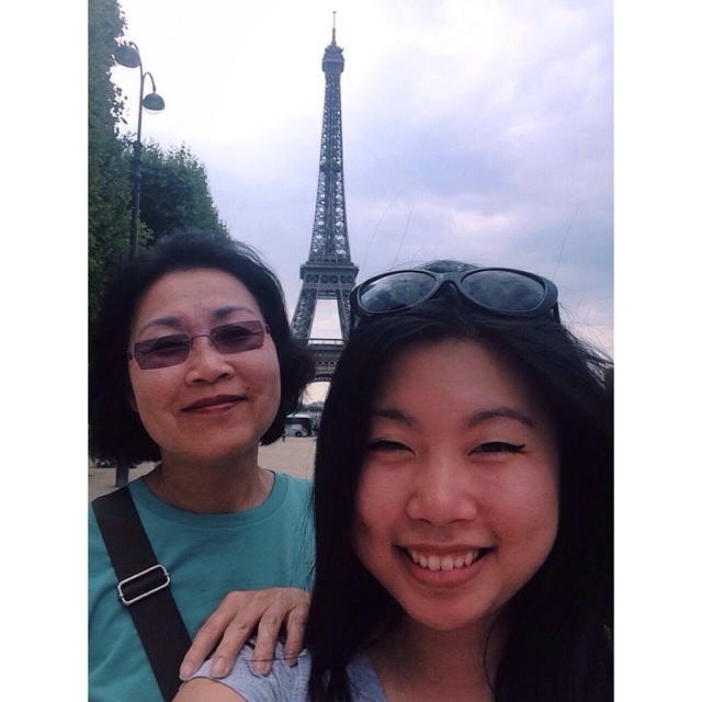 Me with my mom