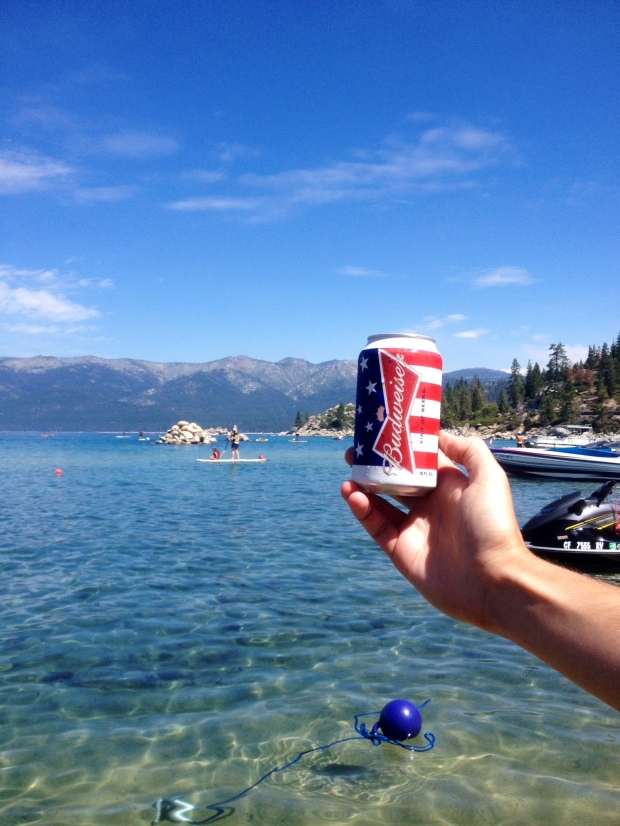 Sand Harbor Beach Lake Tahoe