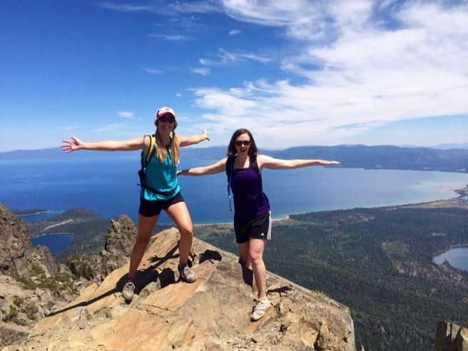 Mount Tallac Hike Summit