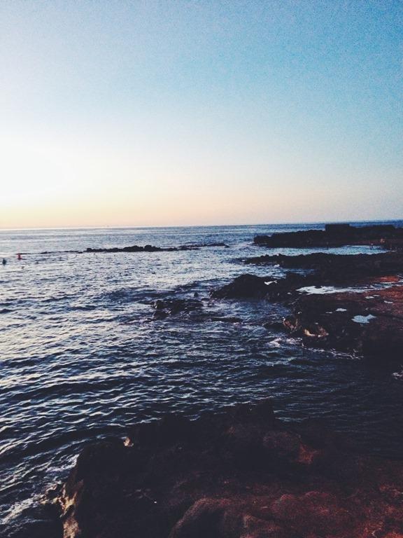 Sunset Gran Canaria beach playa