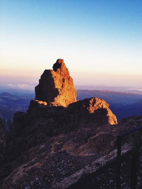 Sunset Pico de las Nieves Gran Canaria Spain