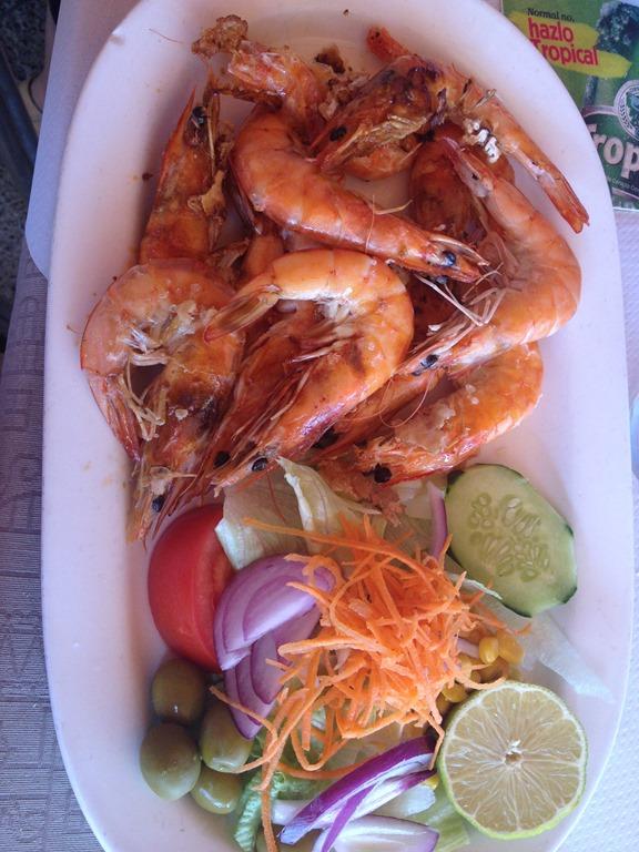 Gambas Shrimp Gran Canaria Comida Food