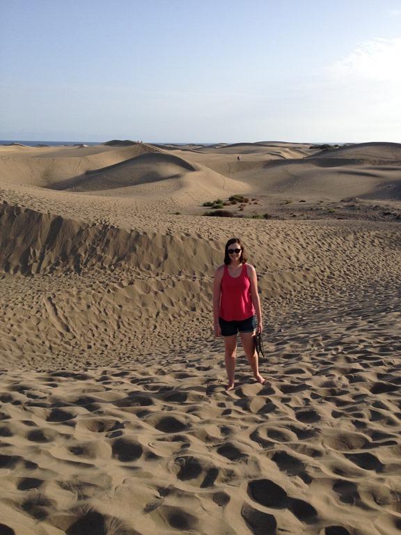 Dunas Dunes Gran Canaria beach playa