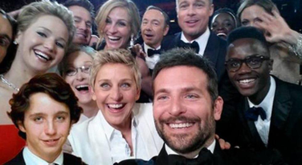 Oscars Selfie Francisco Nicolas