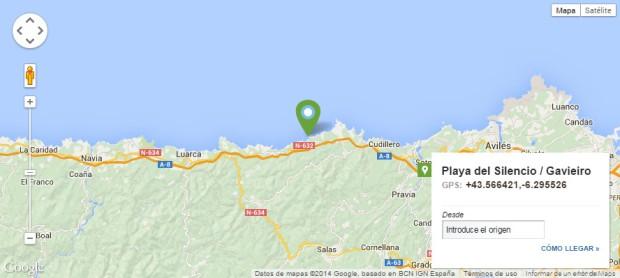 How to get to Playa del Silencio