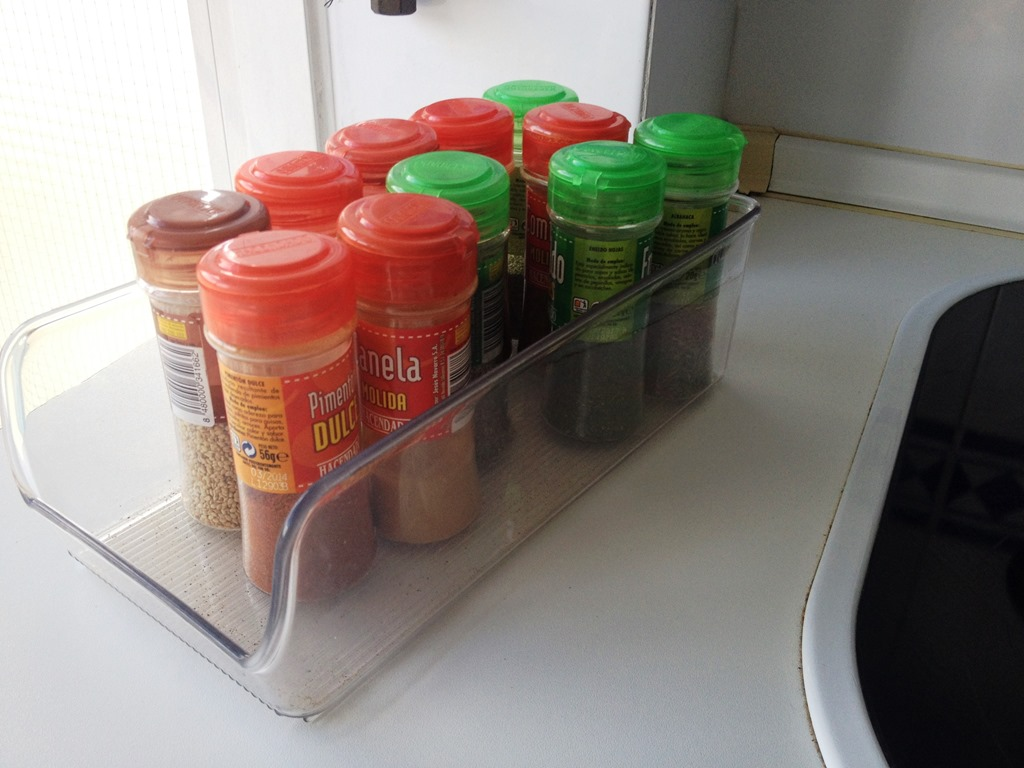 36 Spice rack