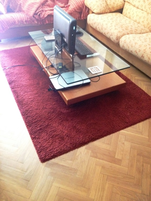 53 Rug Red