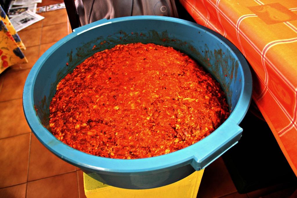 Chorizo meat