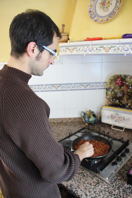 Cooking chichas cocinando chichas