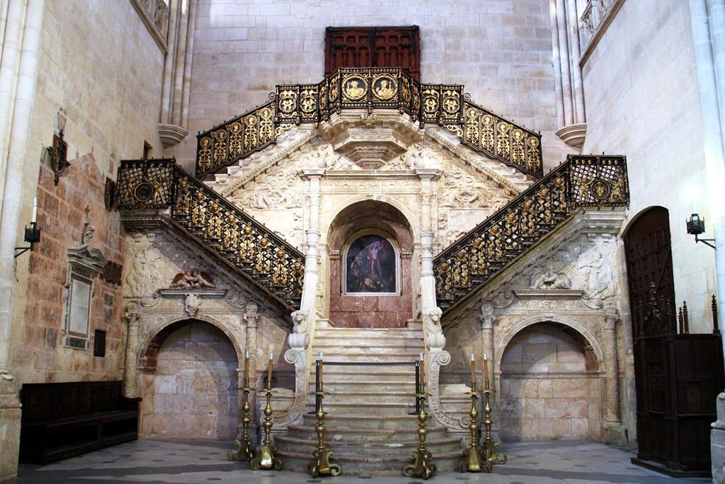 Catedral de Burgos / Burgos Cathedral Escalera Dorada
