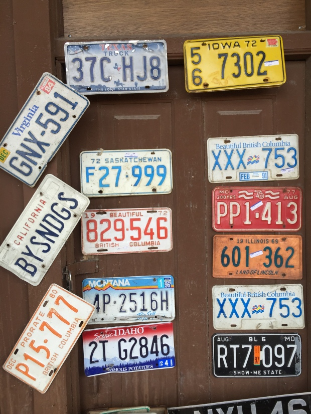Virginia City License Plates