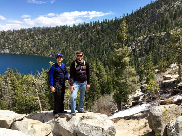 Maggies Peak hike Tahoe