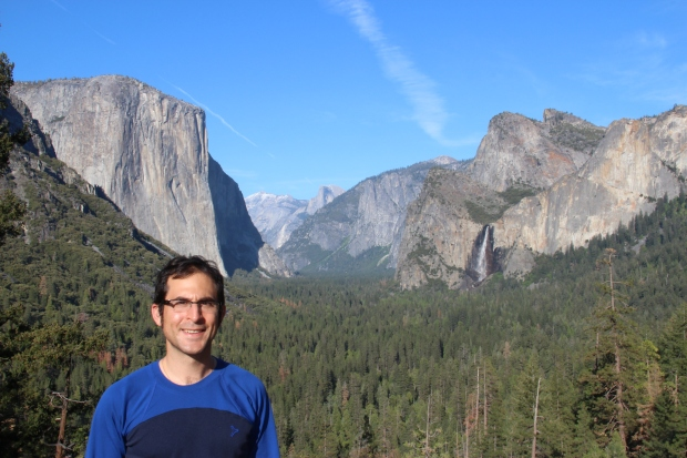 Mario in Yosemite